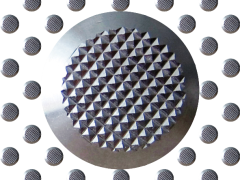 Taktile Bodenindikatoren aus Edelstahl DIN 32984