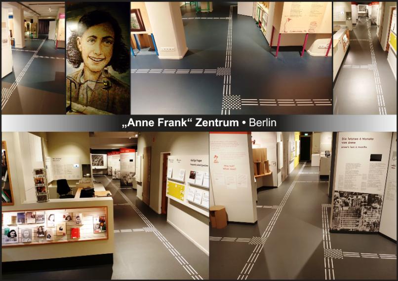 Anne Frank Zentrum Berlin ohne Barrieren!