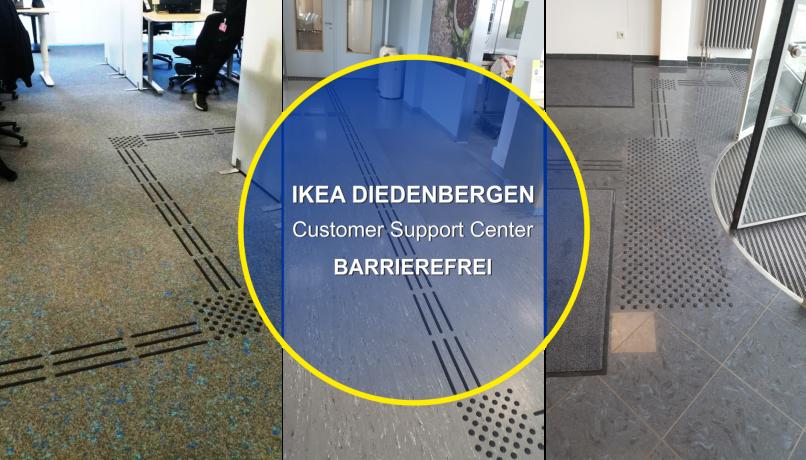 Ikea Diedenbergen, barrierefrei für mitarbeiter